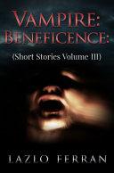 Pdf Vampire Beneficence