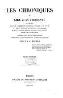 Les chroniques de Sire Jean Froisssart
