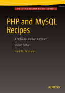 PHP and MySQL Recipes