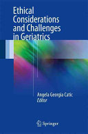 Ethical Considerations And Challenges In Geriatrics