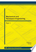 Mechanical and Aerospace Engineering  ICMAE2011 Book