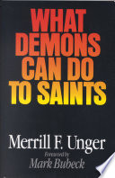 What Demons Can Do to Saints Book