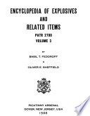 Encyclopedia of Explosives and Related Items