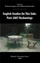 English Studies On This Side  Post 2007 Reckonings