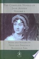 The Complete Novels of Jane Austen  Volume I