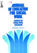 Journal Of Education For Social Work