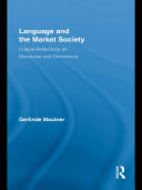Language and the Market Society