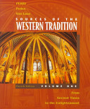 Sources of the Western Tradition  From ancient times to the Enlightenment Book