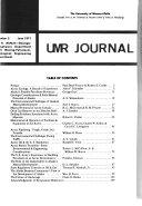 UMR Journal