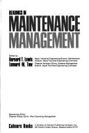 Readings in maintenance management