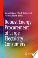 Robust Energy Procurement Of Large Electricity Consumers