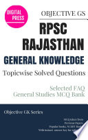 GK Topicwise Questions RPSC RAJASTHAN PUBLIC SERVICE COMMISSION