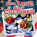 One Land  Many Cultures