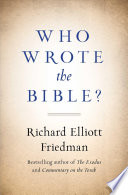 Who Wrote the Bible?