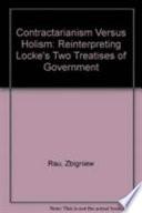 Contractarianism Versus Holism