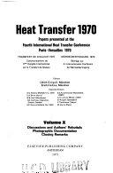 Heat Transfer 1970
