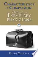 Characteristics Of Compassion Portraits Of Exemplary Physicians Book