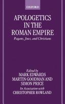 Pdf Apologetics in the Roman Empire Telecharger