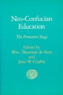 Neo confucian Education