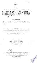 The Highland Monthly Book