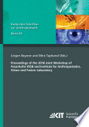 Proceedings of the 2018 Joint Workshop of Fraunhofer IOSB and Institute for Anthropomatics  Vision and Fusion Laboratory Book