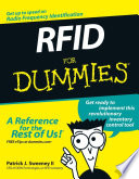 RFID For Dummies Book