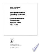 State And Local Government Special Studies