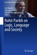 Rohit Parikh on Logic, Language and Society
