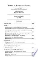 Journal of Appalachian Studies