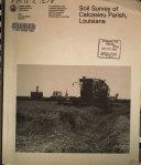 Soil survey of Calcasieu Parish  Louisiana