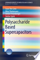 Polysaccharide Based Supercapacitors