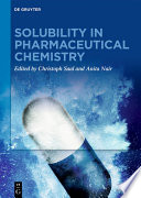 Solubility in Pharmaceutical Chemistry Book