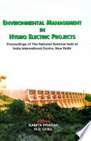 Environmental Management in Hydro Electric Projects