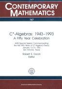C    Algebras  1943 1993