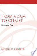 From Adam To Christ