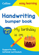 Handwriting Bumper Book  Ages 5 7