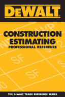 Construction Estimating: Professional Reference - Seite ii