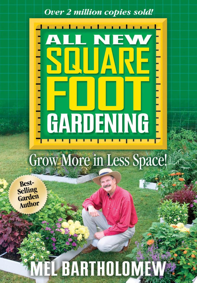 All New Square Foot Gardening banner backdrop