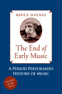 The End of Early Music