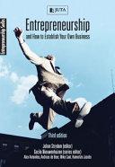 Entrepreneurship   How to Establish Your Own Business