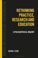 Rethinking Practice, Research and Education