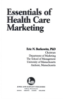 Essentials of health care marketing eric n berkowitz google books title page fandeluxe Choice Image