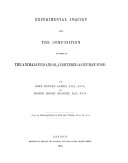 Pdf The Rothamsted Memoirs on Agricultural Science