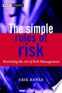 The Simple Rules Of Risk