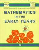 Mathematics in the Early Years Book