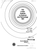 The 5 year outlook on science and technology