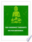 1001 BUDDHIST THOUGHTS