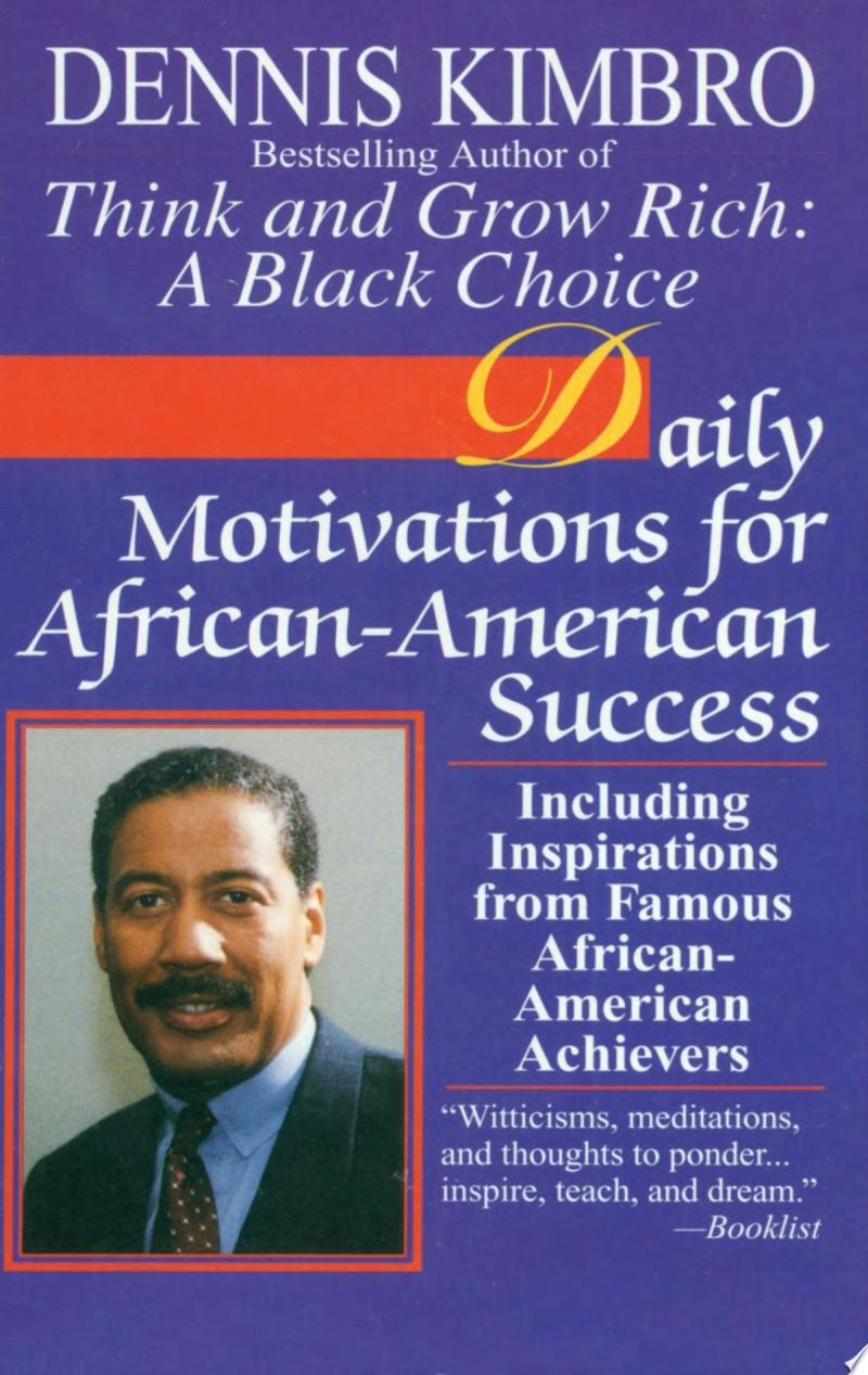 Daily Motivations for African American Success