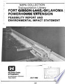 Fort Gibson Lake Powerhouse Extension