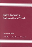 Intra-industry International Trade